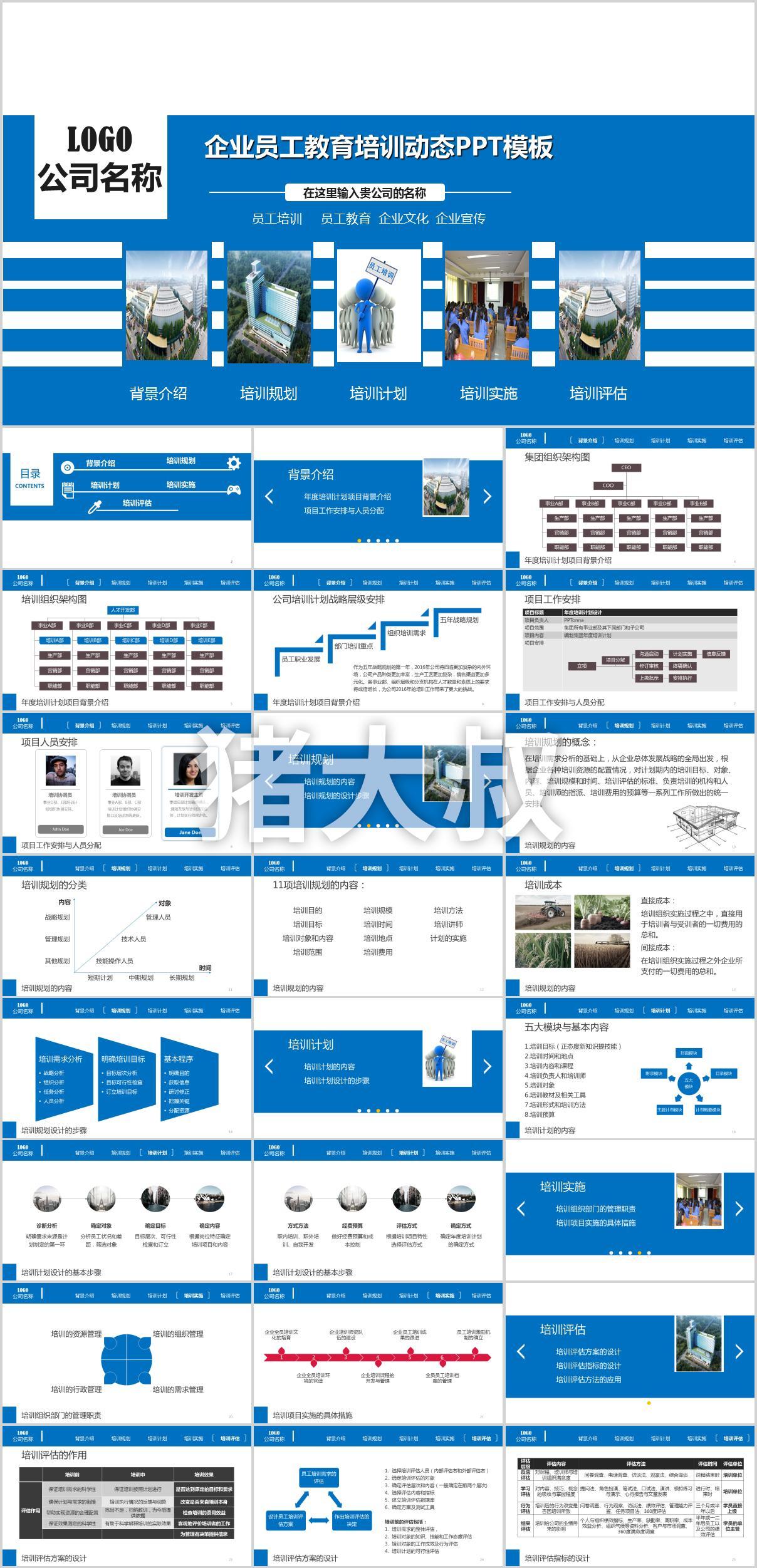 企业员工教育培训PPT课件下载